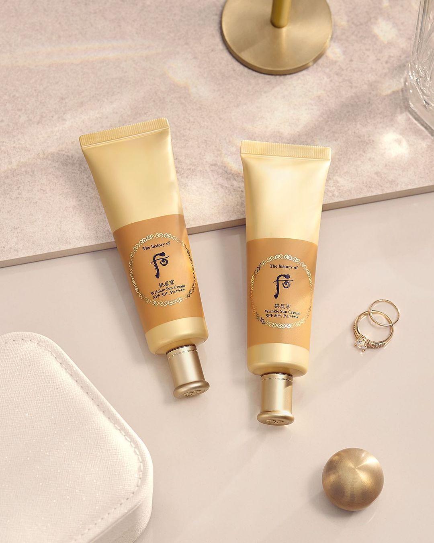 Kem chống nắng cải thiện nếp nhăn Whoo Wrinkle Sun Cream SPF50+/PA++++