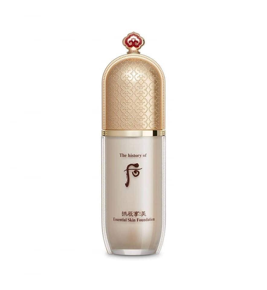 Kem nền che khuyết điểm chống nắng Whoo Gongjinhyang Mi Essential Skin Foundation SPF30/PA++