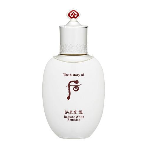 [Sữa dưỡng] Whoo Radiant White Emulsion làm trắng sáng mặt hiệu quả.