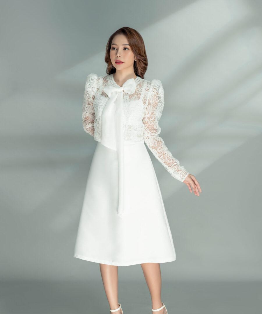 Marissa Dress & Liam Ribbon Jacket